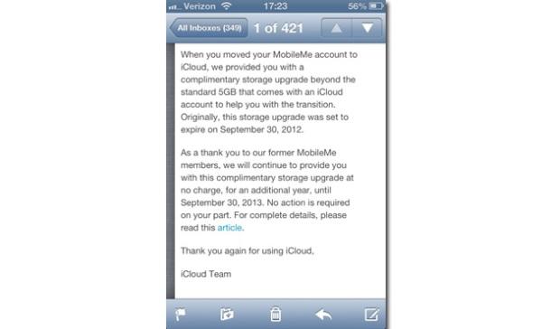 ICloud Update