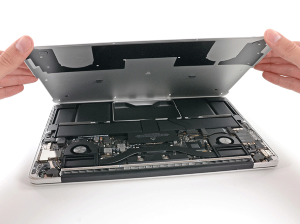 iFixit teardown of Macbook Pro 13 inch