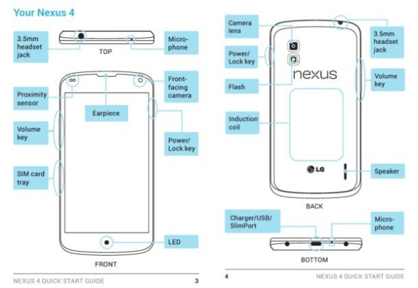 LG E960 Nexus 4 Manual Leak