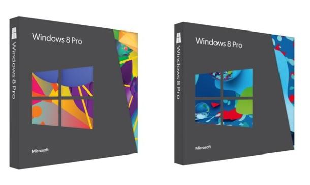 Windows 8 Retail Packaging