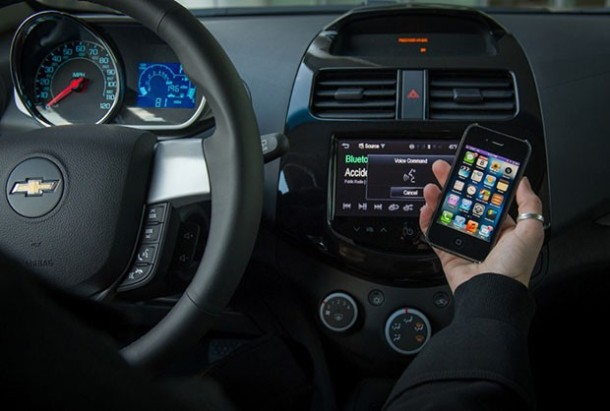 Chevrolet Spark 2013 Siri Integration
