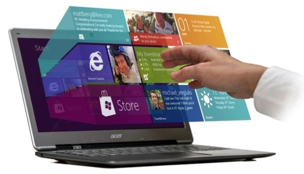 Elliptic Labs Touchless Windows 8