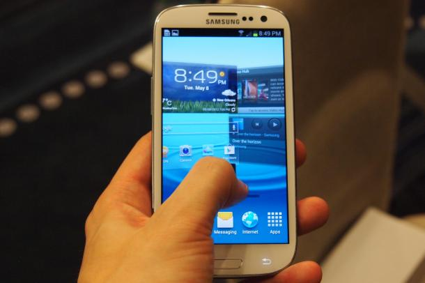 Samsung Galaxy S III Hands On