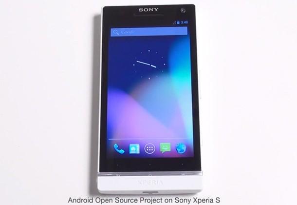 Sony Xperia S AOSP