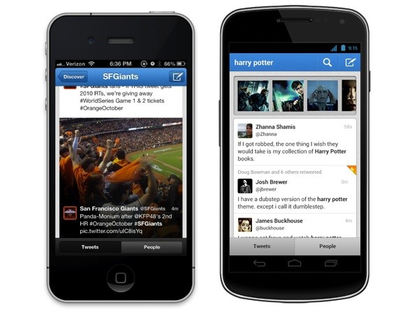 Twitter Preview Cards iPhone Android