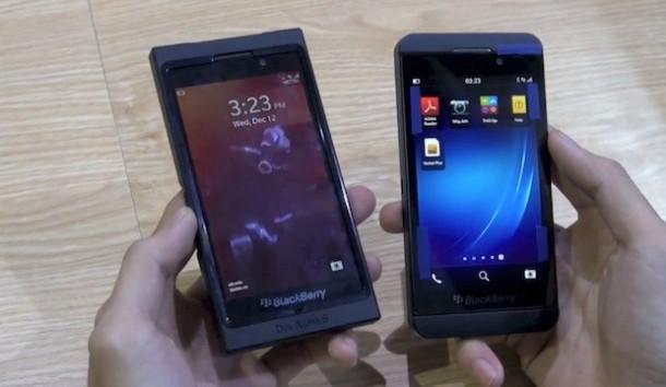 BlackBerry 10 L-Series Hands On Leak