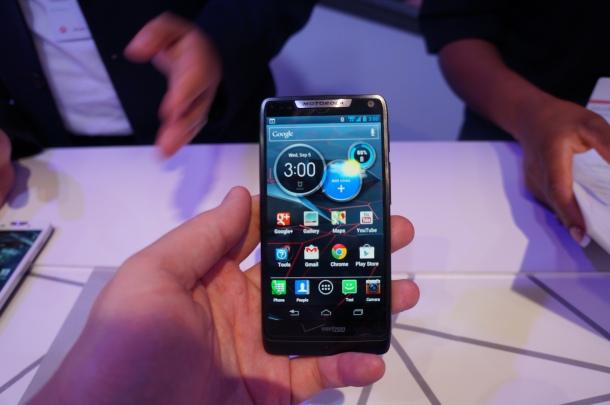 Motorola RAZR HD hands on