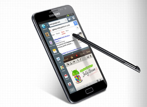 Samsung Galaxy Note Premium Suite Update