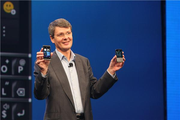 BlackBerry Z10 and Q10 Unveiled Onstage