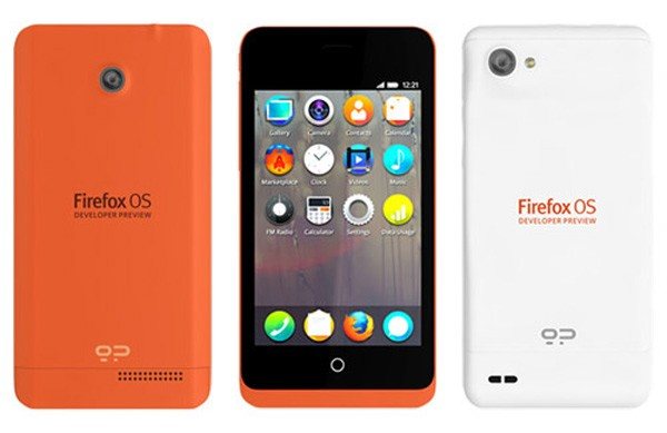 Geeksphone Firefox OS Developer Preview Phone