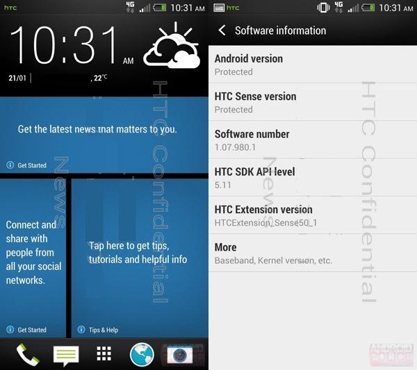 HTC Sense 5 Leaked Screenshots