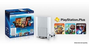 Latest PlayStation 3 model available Jan 27 in 'Classic White' with 500GB HDD and PS Plus bundled