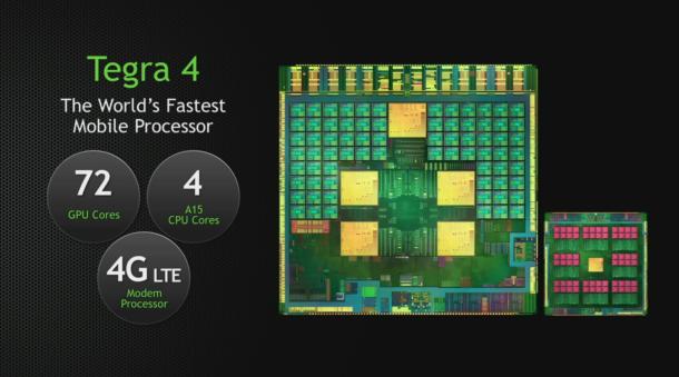 NVIDIA CES 2013 Tegra 4 Announcement