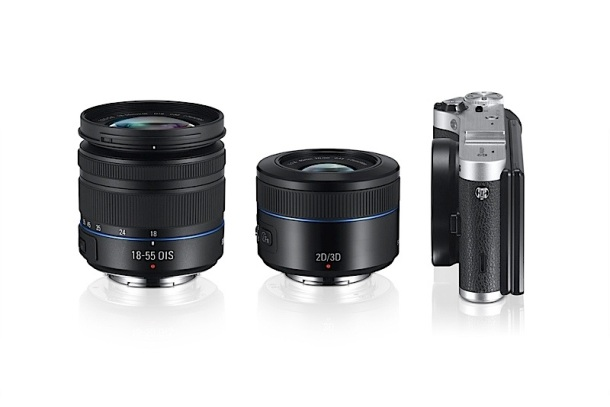Samsung NX300 and 45mm 2D/3D Lens
