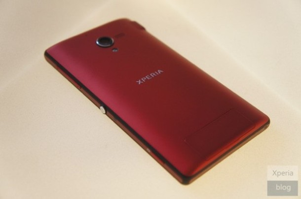 Red Sony Xperia ZL