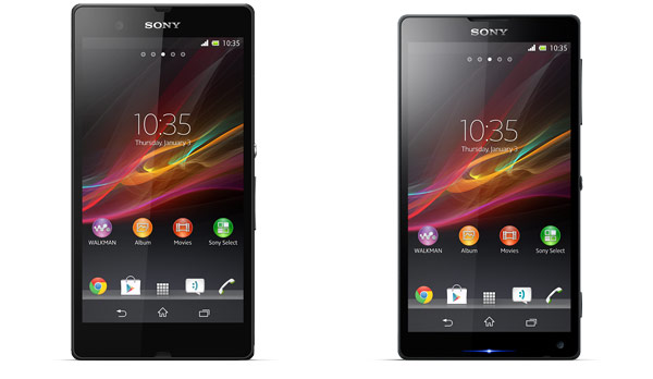 Sony Xperia Z 'Yuga' and ZL 'Odin'