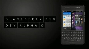 BlackBerry reveals new Dev Alpha C handset with physical keyboard