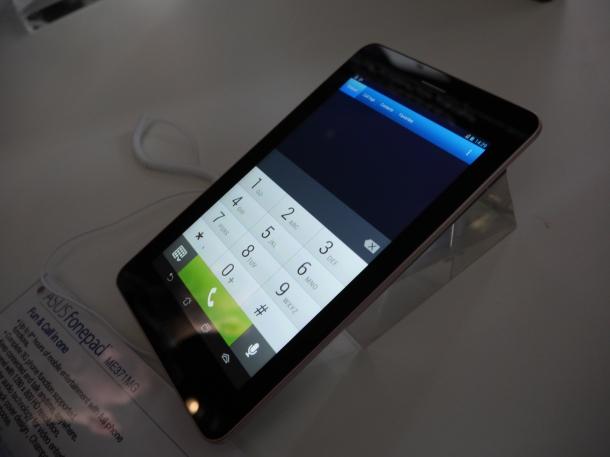 Asus FonePad Close Up