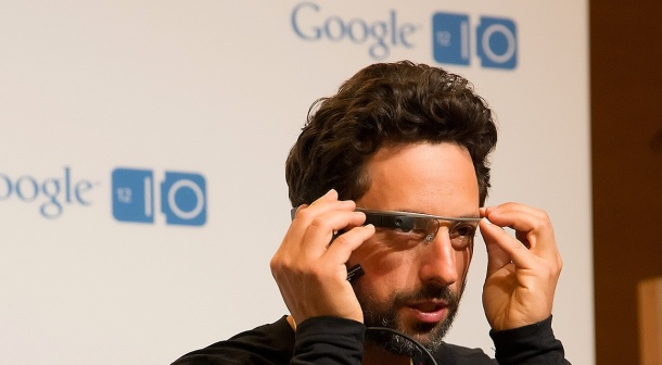 Google Glasses at Google I/O 2012