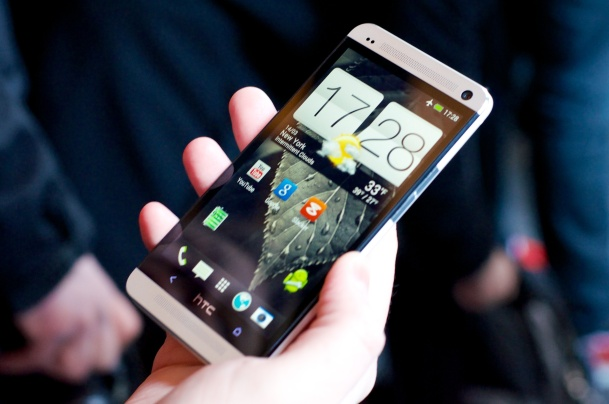 HTC One Hands On 1