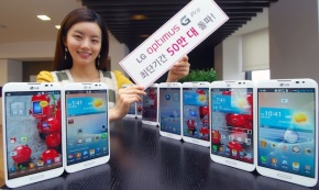 500k LG Optimus G Pro sold at home country