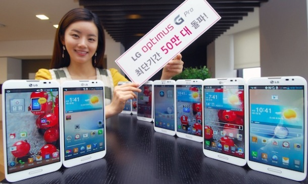 LG Optimus G Pro 500K Sold