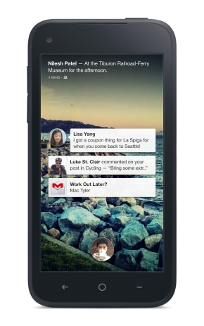 Facebook Home official, replaces your app icons with socialinfo