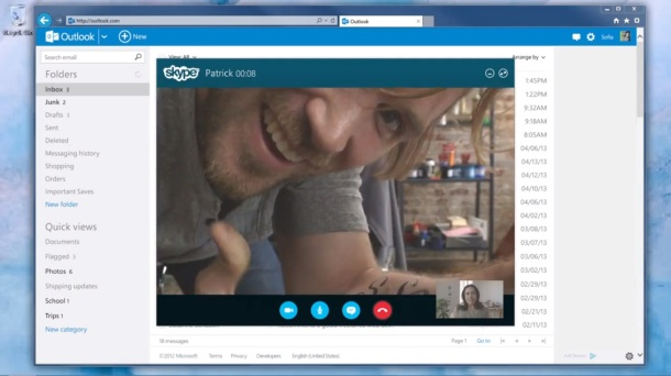 Skype for Outlook
