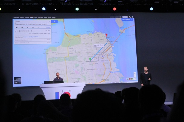 Google IO 2013 Google Maps New Features