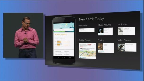 Google IO 2013 Google Now New Features