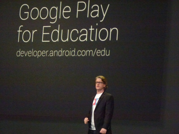 Google IO 2013 Google Play for Education