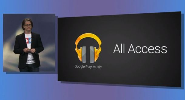 Google IO 2013 Google Play Music All Access