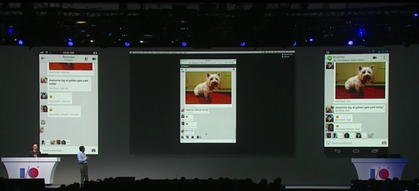 Google IO 2013 Google Plus Hangouts New Features