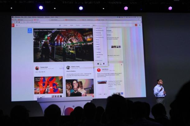 Google IO 2013 Google Plus New Features