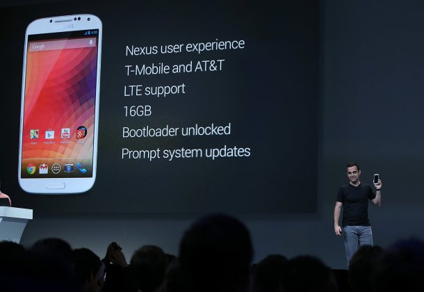 Google IO 2013 Samsung Galaxy S4
